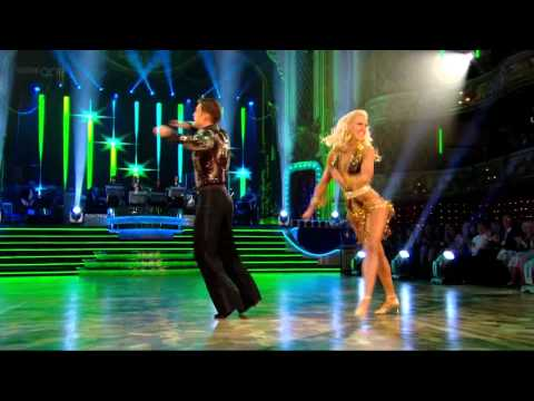 Scott Maslen & Natalie Lowe – Samba – Strictly Come Dancing – Week 8