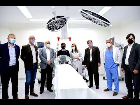 Kicillof y Gollan inauguraron nuevas instalaciones en el hospital Oñativia en Rafael Castillo