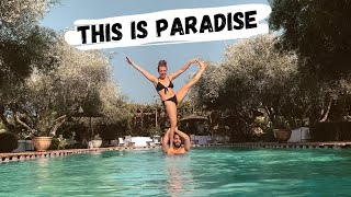 Our FAVORITE Hidden Spot In Marrakech Morocco -  Travel Vlog