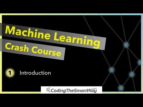Machine Learning Crash Course - Part 1 - Introduction - YouTube