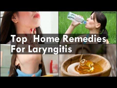 Video Home Remedies For Laryngitis