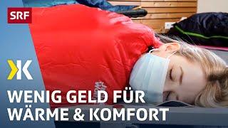Schlafsäcke im Test: Die günstigsten sind die besten | 2021 | SRF Kassensturz