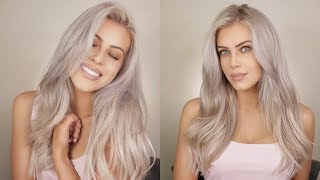 My Hair Routine | Grey/Ash Blonde Hair | Chloe Boucher