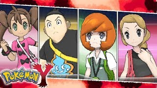 All FriendRival Battles | Pokemon XY