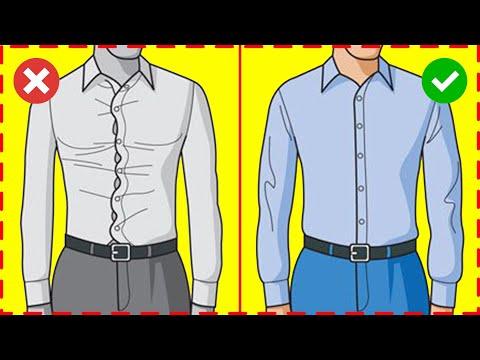 КАК ВЫБРАТЬ РУБАШКУ? 6 Правил Выбора Мужской Рубашки! Мужской Стиль / Мужская рубашка / Самсонов