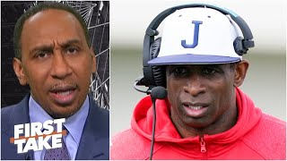 Stephen A. on Deion Sanders saying items were stolen during his Jackson State debut | First Take