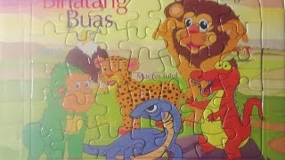 Binatang Buas Puzzle ❤ Learn Wild Animal Puzzles for Kids ❤ 野生動物パズル