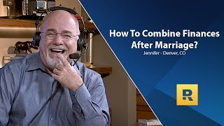 How To Combine Finances After Marriage?