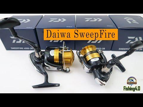 Máy câu cá daiwa Sweep fire 2500 3000 4000 - 2b chính hãng daiwa made in viet nam