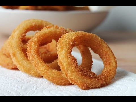 Onion Rings Selber Machen (Rezept) || Homemade Onion Rings (Recipe) || [ENG SUBS]