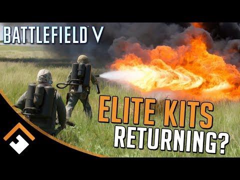 Elite Kits / Battle Pickups Coming to Battlefield V?