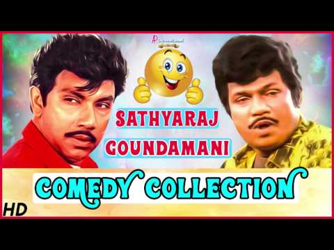 Goundamani Sathyaraj Comedy Collection | Rajinikanth | Senthil | Manorama | Super Hit Tamil Comedy