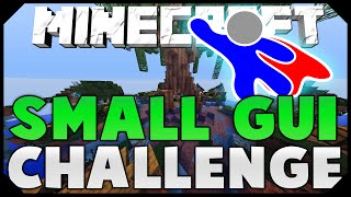 THE SMALL GUI CHALLENGE + FLYING HACKER! ( Hypixel Skywars )