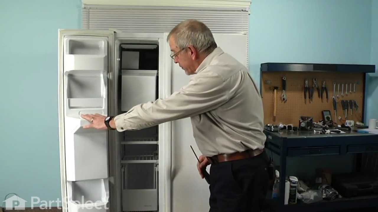Replacing your Whirlpool Refrigerator Evaporator Fan Motor - 120V 60Hz