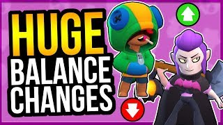 UPDATE SNEAK PEEK - BALANCE CHANGES! Leon Nerf, Mortis Buff & More (Brawl Stars)