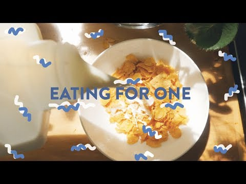 SINGLE GIRL GUIDE TO EATING | BREAKFAST, LUNCH, DINNER | MEALS ON ROTATION