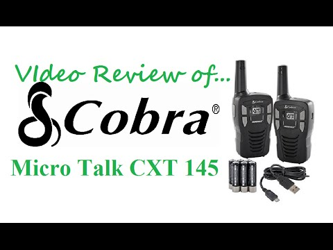Review of the Cobra Micro Talk CXT 145