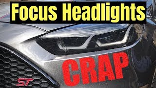 FORD FOCUS HEADLIGHTS - DO NOT BUY! - Part 3