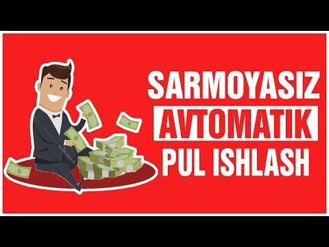 SARMOYASIZ AVTOMATIK PUL ISHLASH T-HIVE