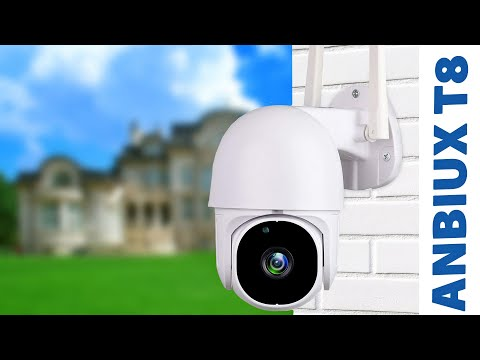 ANBIUX T8: недорогая поворотная IP-камера видеонаблюдения на 3MP для умного дома TuyaSmart