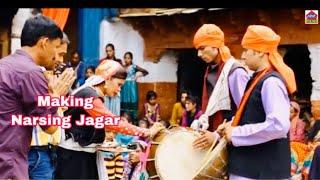 Making  Of Narsingh Jagar | Hema Negi Karasi |  Garhwali Jaagar |