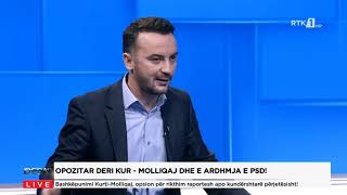 Debat - Opozitar deri kur - Molliqaj dhe e ardhmja e PSD! 17.03.2021
