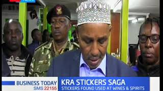 KTN Business: Taxman conducts swoop in Kericho & recovered dozens of KRA stickers