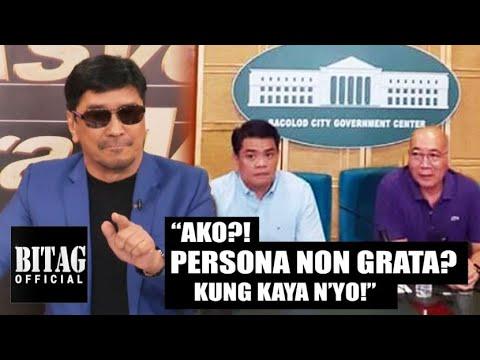 """Ben Tulfo, banned na sa Bacolod! """"Wala akong paki!"""""""