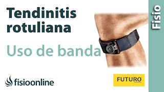 Tendinitis rotuliana - Uso de la banda infrarrotuliana para mejorar el dolor de rodilla