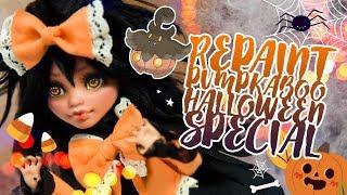 HALLOWEEN SPECIAL Repaint PUMPKABOO Art Doll