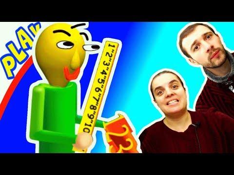 БАЛДИ Догоняет БолтушкУ и ПРоХоДиМЦа! #256 Игра для Детей - Балди Басикс