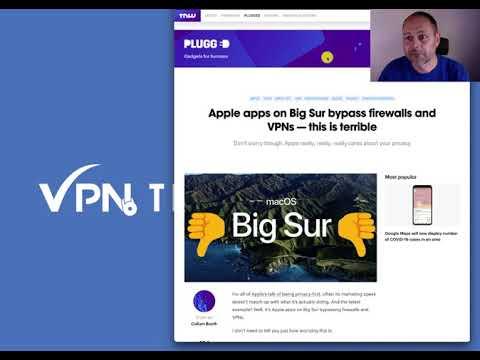 Vorsicht: Big Sur umgeht Firewall-Regeln und enttarnt jeden VPN Nutzer 1