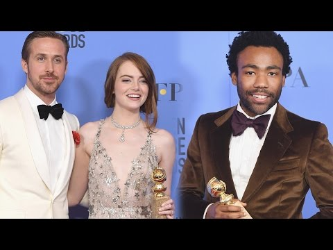 2017 Golden Globes Winners Recap