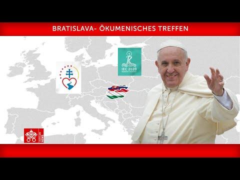 Wortlaut: Papstrede bei Ökumenischer Begegnung in der Slowakei