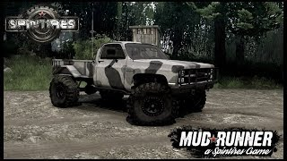 MUD, ROCKS AND A LIFTED CHEVY! - Spintires: MudRunner