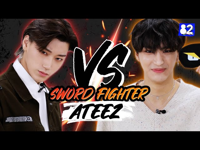Are ATEEZ's members actually skilled sword fighters? I Touché