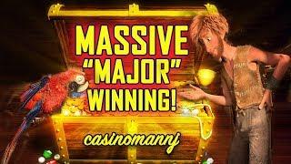"💥MASSIVE ""MAJOR WINNING""💥 - HUGE SLOT WIN 2 TIMES!!!! - Slot Machine Bonus"