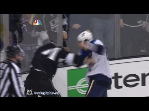 Jordan Nolan vs. Chris Stewart