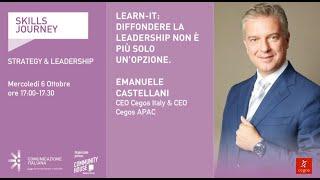 Youtube: LEARN-IT: Diffondere la Leadership non è più solo un'opzione   Skills Journey   Cegos