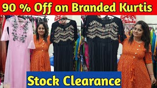 90%off on Branded kurties|Export Surplus Kurties|Surplus Cheapest kurties| Stock Clearance|