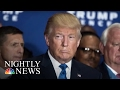 Donald Trump Tweets Complaint About Transition, Later Praises Process | NBC Nightly News