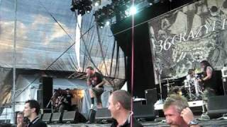 36 Crazyfists LIVE [Slit Wrist Theory] - Soundwave Festival 2009