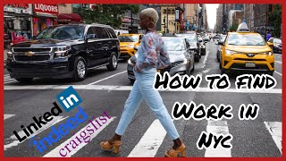 PT. 3 MOVING TO NYC | HOW TO FIND A JOB FAST IN NYC | JOB HUNTING