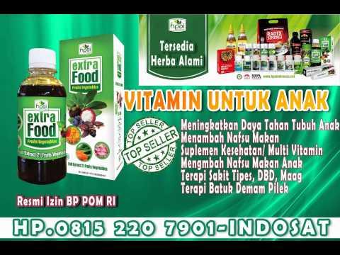 Video 08152207901 (INDOSAT) VItamin Untuk Anak susah makan