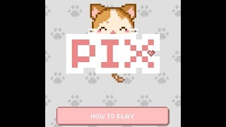 How to play Pix! Your Virtual Pet Widget Game!