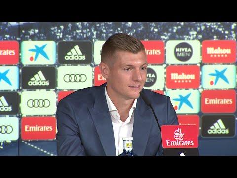 Toni Kroos renueva con el Real Madrid hasta 2023