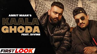 AMRIT MAAN x DIVINE | Kaala Ghoda (First Look)| All Bamb | Ikwinder Singh| Latest Punjabi Teaser2021