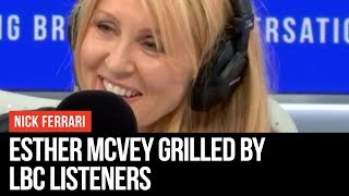 Tory Leadership Hopeful Esther McVey Grilled By Listeners - Conservative Leadership Contest - LBC