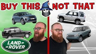 The CAR WIZARD Shares The Top LAND ROVERS TO Buy & NOT To Buy!