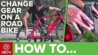 How & When To Change Gear On A Road Bike | GCNs Pro Tips
